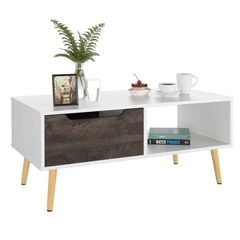 It can also be used as a fabulous side table and you can even stack up several suitcases to create a cool focal. Homfa Coffee Tables for Living Room TV Stand ...