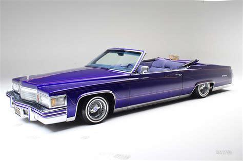 Lowrider Cadillac by 1979 Cadillac Le Cabriolet Purple Rein Lowrider