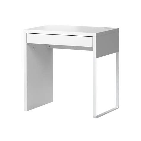 white desk with micke desk white 73x50 cm ikea