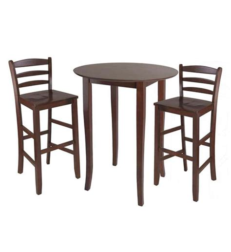 high top table chairs three piece high top dining table and chairs in bar table sets