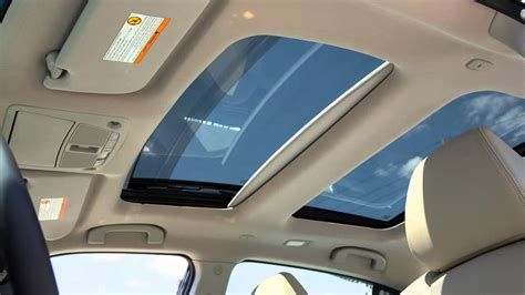 nissan maxima dual panel moonroof   equipped