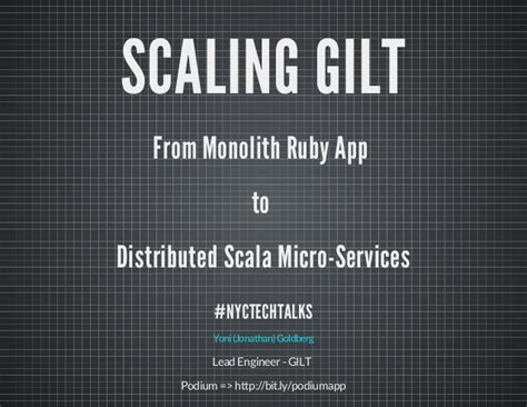 From Monolith Ruby App To Micro Service