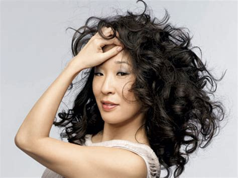 sandra oh curls marie claire sandra oh interview