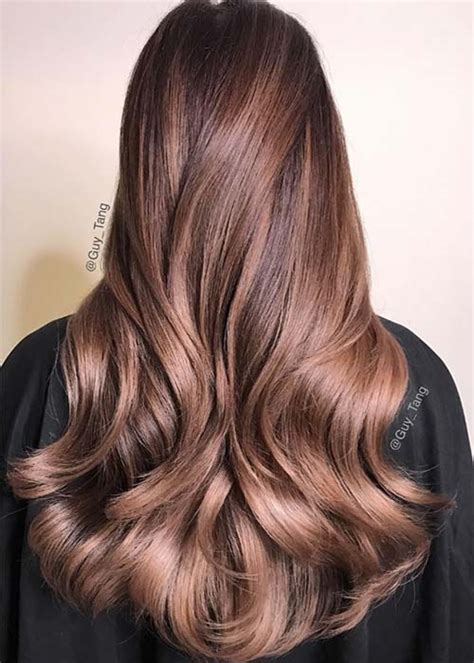 pretty chocolate mauve hair colors ideas  inspire