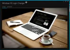 Windows 1.0 Login Screen Changer