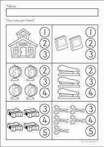 Back to School Math & Literacy Worksheets and Activities ...