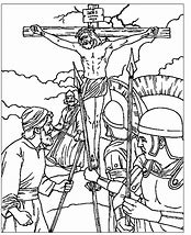 HD Wallpapers Coloring Page Jesus Crucifixion