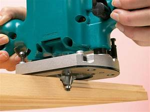 How to Use a Router With Edge Bits and Groove Bits how