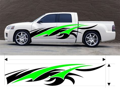 Vinyl Graphic Decal Car Truck Kit Custom Size Color