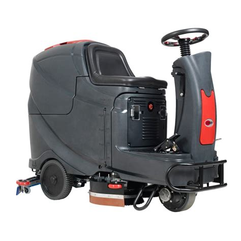 viper 28 inch ride on automatic floor scrubber w pad drivers