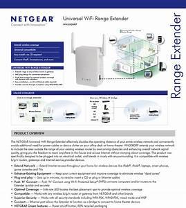 Netgear Wn3000rp Universal Wifi Range Extender  Wn3000rp