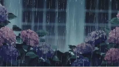 Rain Aesthetic Anime Chill Ago Data Hearts