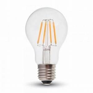 Ampoule Led Design : ampoule led e27 4w filament blanc chaud eclairage design ~ Melissatoandfro.com Idées de Décoration