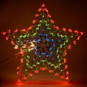Christmas, Multi, Colour, Led, Star, Silhouette, Window, Decoration, 8, Chaser, Lights, New
