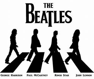 The Beatles Abbey Road Stencil | www.imgkid.com - The ...