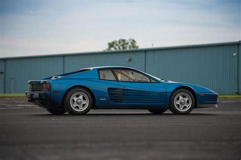 Miami Vice Director's Ferrari Testarossa Looks More ...