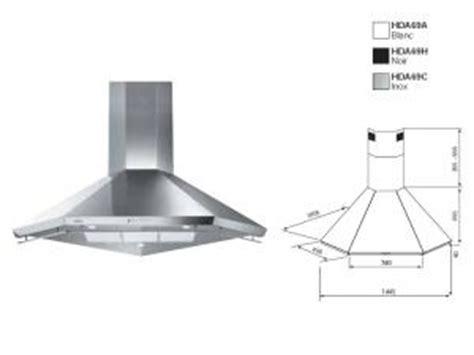 hotte aspirante d angle cuisine hotte d angle airlux par meubles et ustensiles de cuisine