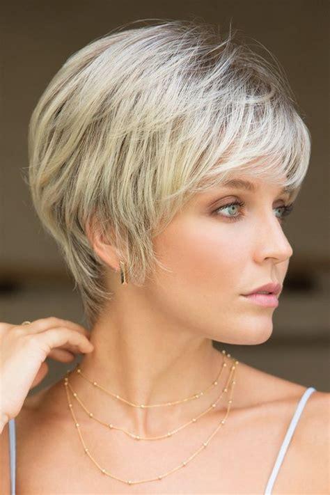 short layered haircuts  older women