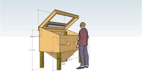 Media Blasting Cabinet Plans by Free Homemade Sandblaster Plans Crazy Homemade