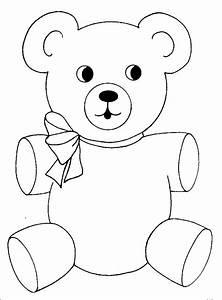 Malvorlagen Fur Kinder Ausmalbilder Teddy Kostenlos