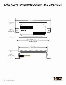Alumitone Griller Humbucker  U2013 Lace Music Products