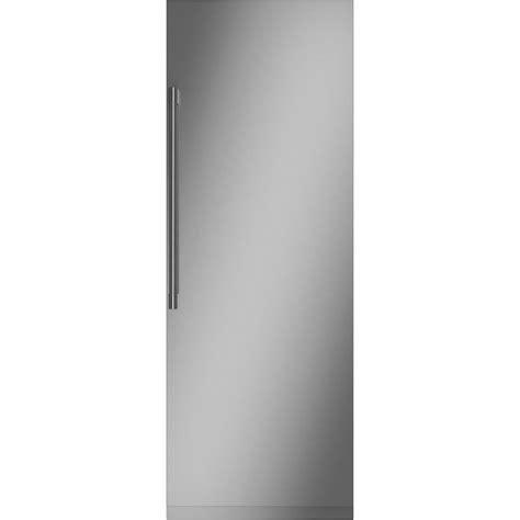 monogram  cu ft column built  refrigerator custom panel ready zirnpnii  buy