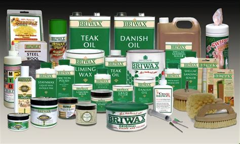 TRG Products   Briwax on Kitchen Cabinets
