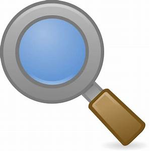 Clipart - System Search Icon