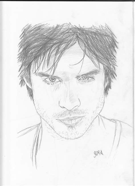 Discover images and videos about damon salvatore from all over the world on we heart it. Ian Somerhalder | Karakalem Portre - Drawing & Sketch ...