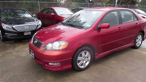 Get information and pricing about the 2005 toyota corolla, read reviews and articles, and find inventory near you. 2005 Toyota Corolla S Start Up/ Brief Walkthrough - YouTube