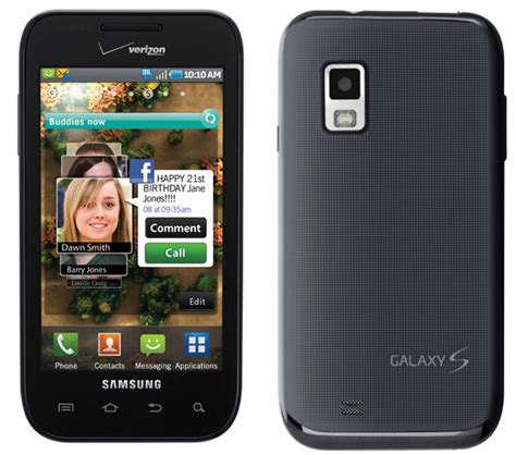 samsung galaxy  variant fascinate launches  verizon