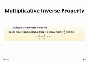 Multiplikative Inverse Berechnen : multiplicative inverse property ~ Themetempest.com Abrechnung
