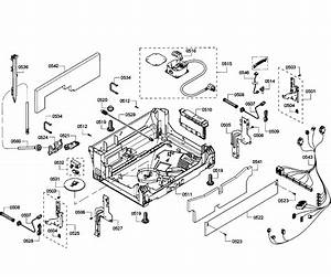Bosch Model Shp65t55uc  01 Dishwasher Genuine Parts