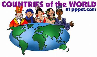 Countries Cultures Country Powerpoint Around English Different
