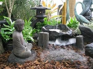 Statue Deco Jardin Exterieur : le jardin japonais encore 49 photos de jardin zen ~ Teatrodelosmanantiales.com Idées de Décoration