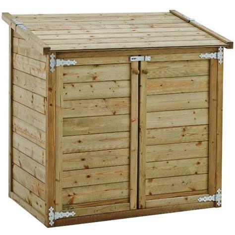 coffre pour pompe piscine coffre de jardin bois multi fonctions trigano store