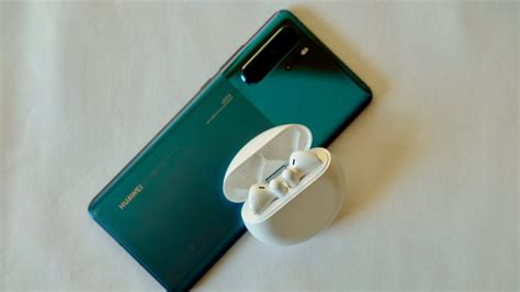 huawei  buds  review hands  trusted reviews