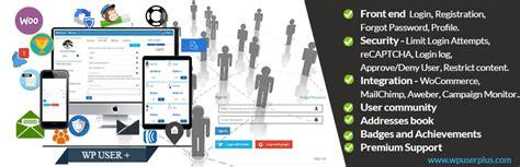 wp user custom registration forms login  user