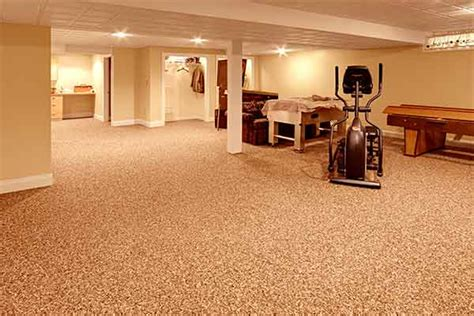 Best Basement Stone And Epoxy Flooring