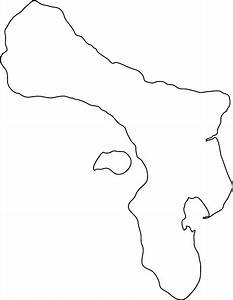 Images of Blank Island Map Outline - #golfclub
