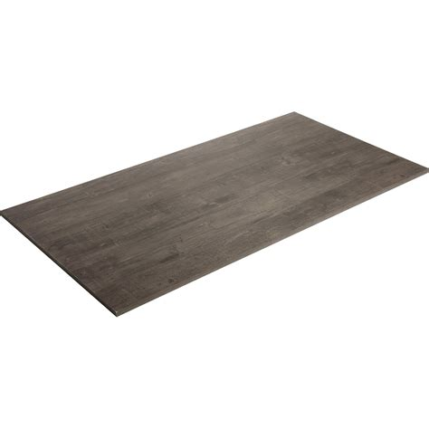 plateau de table agglom 233 r 233 planche us 233 e spaceo l 160 x l 80 cm x ep 22 mm leroy merlin