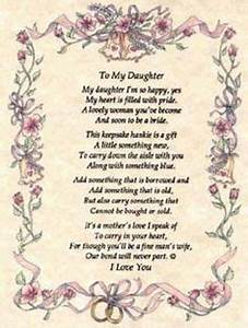 brooke on pinterest daughters a poem and poem With mother s letter to her daughter on her wedding day