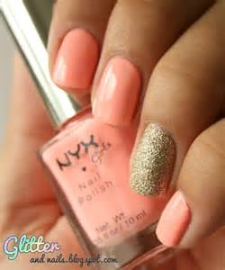Best peach nail art ideas on corral nails