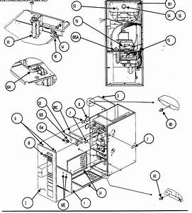 Heater Exchanger Diagram Parts List For Model 58mvp080