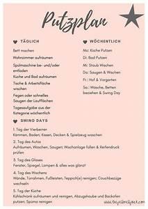 Erstausstattung Haushalt Liste : putzplan ein wenig ordnung im chaos organization pinterest putzplan haushalte und ~ Markanthonyermac.com Haus und Dekorationen