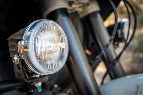 Led Motorcycle Driving Lights by Cyclops Range Best Value In High Output Aux Lights