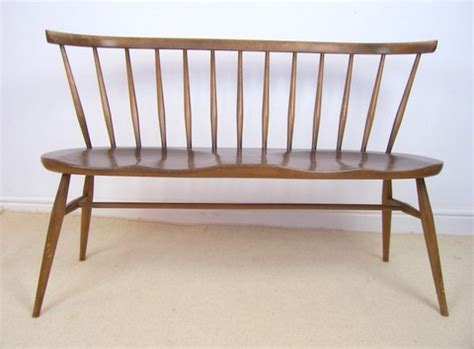 Ercol Loveseat by Mid Century Furniture Modern Teak And Rosewood