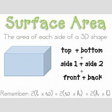 What The Teacher Wants! Surface Area And Volume