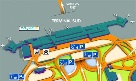 parking p7 orly guide a 233 roport d 180 orly 224