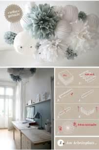 DIY Tissue Paper Pom Poms